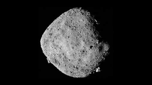 Ученые определили массу и объем астероида Бенну