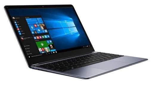 Chuwi Herobook: анонсировали стильный ноутбук с процессором Intel Atom X5