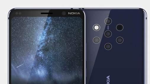 Обнародовали цену будущего флагманского смартфона Nokia 9