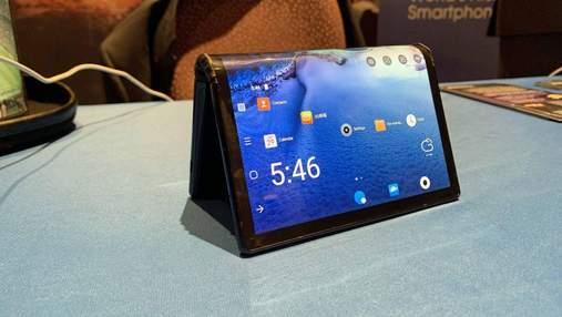 З'явилися нові деталі про перший гнучкий смартфон FlexPai