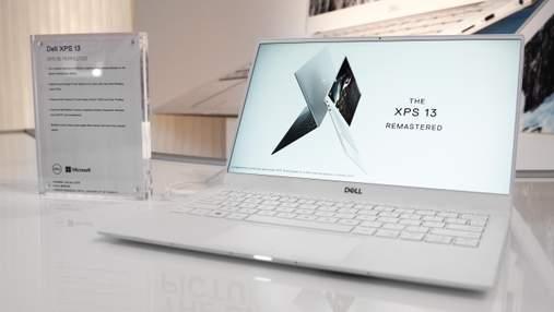 Ноутбук XPS 13 від Dell отримав інноваційну камеру