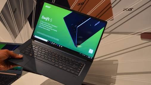 Самые легкие 15-дюймовые ноутбуки Acer Swift 5 уже доступны в Украине: характеристики и цена