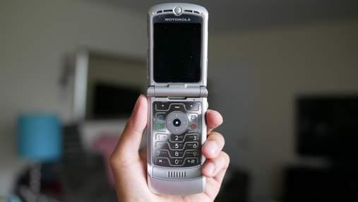 Як виглядатиме оновлений смартфон-жабка Motorola RAZR V3: фото
