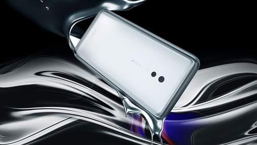 Представили смартфон Vivo APEX 2019 без жодної кнопки та отвору