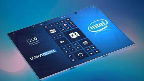 Intel планує представити гнучкий смартфон: деталі