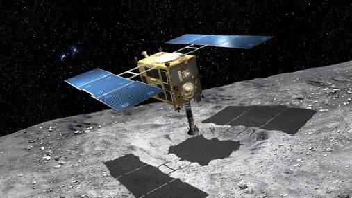 Апарат Hayabusa 2 готують до посадки на астероїд Рюгу: мета місії