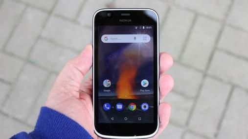 Смартфон Nokia 1 перевірили на міцність: неймовірне відео