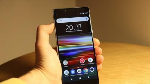 Бюджетний смартфон Sony Xperia L3 представили офіційно: фото та характеристики