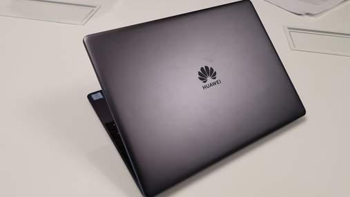 Huawei представила тонкие и легкие ноутбуки MateBook 13: характеристики и цена