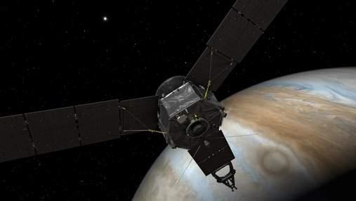 NASA показало новое фото облаков Юпитера