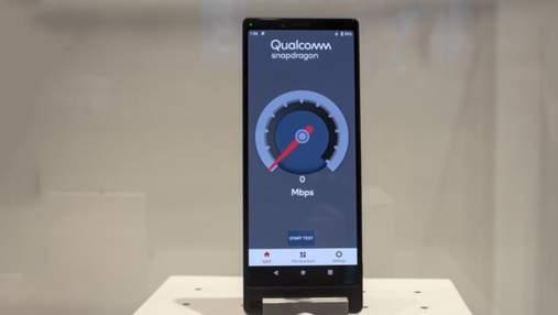 Sony показала свій перший  5G-смартфон: фото