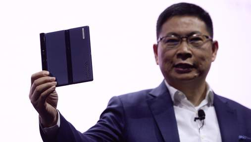 Складной смартфон Huawei Mate X мог иметь другой дизайн: детали