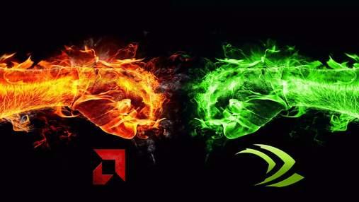 Битва гігантів: як розподілилися ролі AMD і NVIDIA на ринку дискретних відеокарт