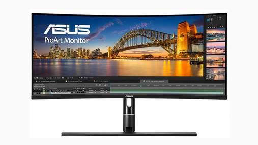 ASUS випустила 34-дюймовий монітор  ProArt PA34VC: характеристики та ціна