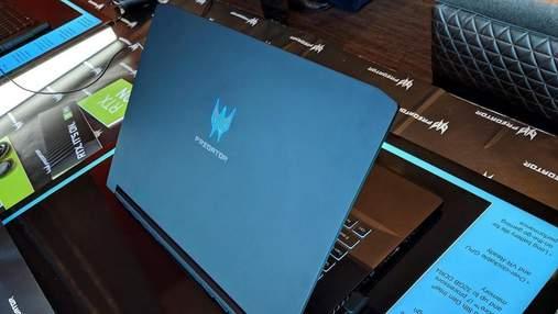 Игровой ноутбук Acer Predator Triton 500 поступил в продажу в Украине: особенности и цена