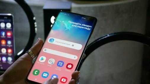 Унікальний сканер відбитка пальців у Samsung Galaxy S10 легко обдурили