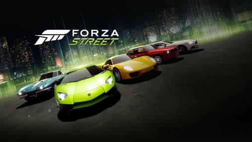 Microsoft представила бесплатную игру Forza Street на PC, iOS и Android