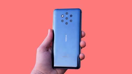 Защита провалилась: смартфон Nokia 9 PureView разблокировали с помощью жвачки – видео