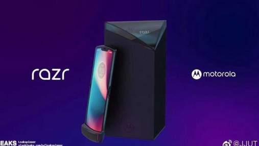 Гнучкий смартфон від Motorola засвітився на фото