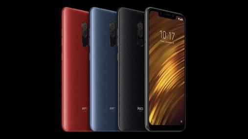 Xiaomi Pocophone F2: інсайдер назвав нові дані про бюджетний флагман