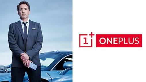 Роберт Дауні-молодший став обличчям смартфону OnePlus 7 Pro