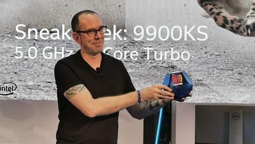Intel представила новый топовый процессор Core i9-9900KS