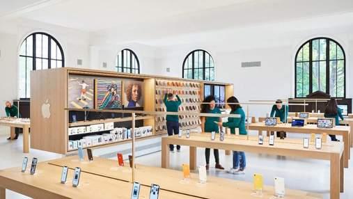 Как старинная библиотека превратилась в современный Apple Store: фото