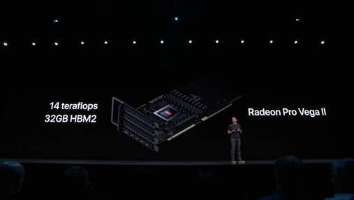 Неожиданности на WWDC 2019: AMD представила новые видеокарты семейства Radeon