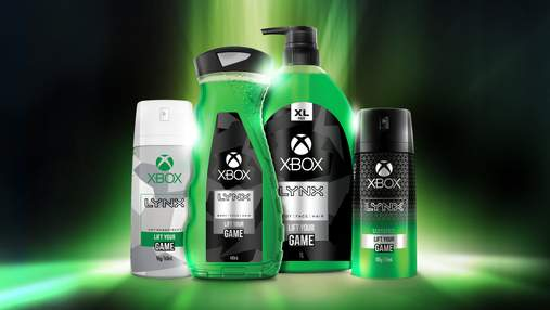 Microsoft представила линейку по уходу за телом Lynx Xbox