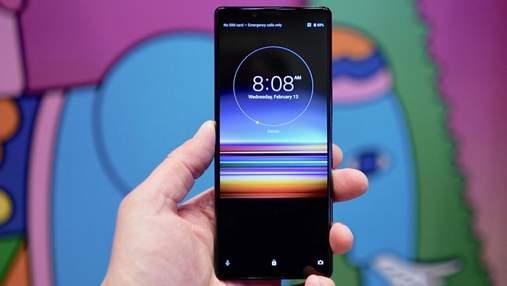 Топовый смартфон Sony Xperia 1 поступил в продажу в Украине: цена
