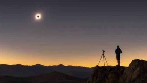 Сонячне затемнення  2019: яскраві фото та відео із Землі