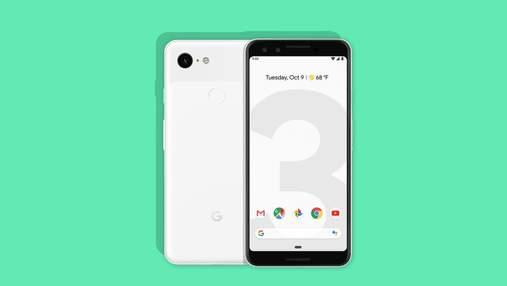 Смартфон Google Pixel 3 рекордно подешевшав