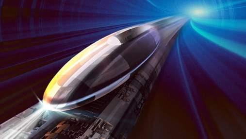 Как будут выглядеть станции скоростного поезда Hyperloop: захватывающее видео