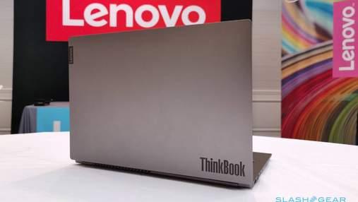 Lenovo представила в Україні нову лінійку ноутбуків ThinkBook: характеристики та ціна