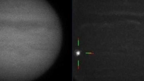 Падіння метеора на Юпітері зафіксували на відео
