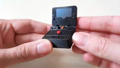 Фанат Lenovo создал миниатюрную копию ноутбука ThinkPad: фото