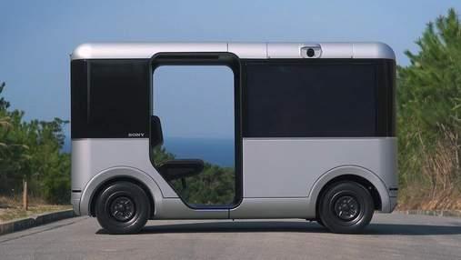 Sony и Yamaha представили микроавтобус будущего: фото