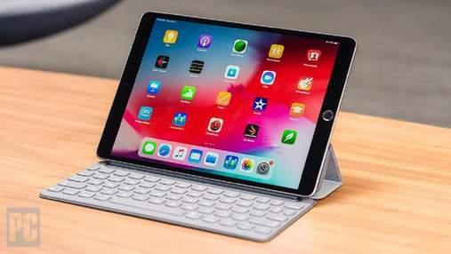 Apple показала левый берег Киева на презентации нового iPad