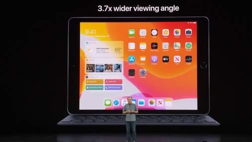 Apple представила новое поколение самого бюджетного iPad