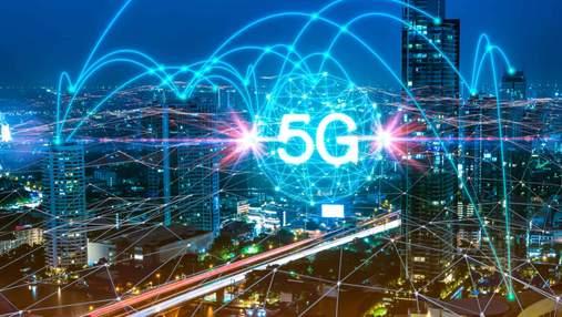 В Украине начинают тестирование сеть 5G: детали и список городов