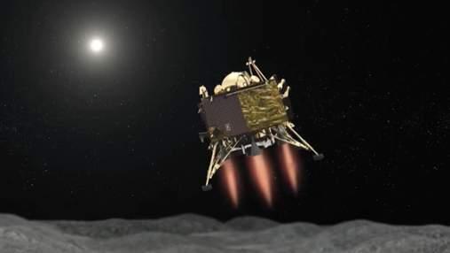 Стала відомою доля зниклого індійського місячного модуля