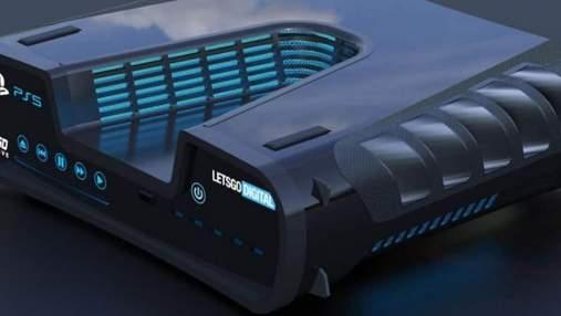 Большой размер и необычный дизайн: в сети появилось первое фото Sony PlayStation 5