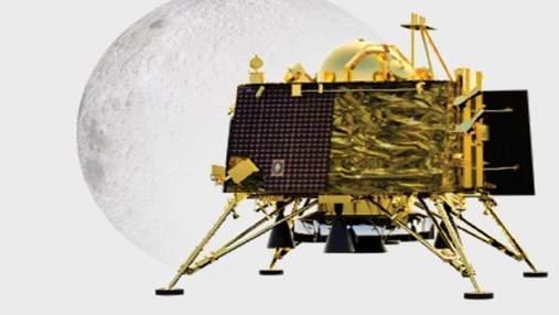 """NASA підтвердило місце падіння індійського модуля """"Вікрам"""", який розбився об поверхню Місяця"""