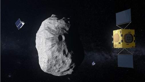 Ученые впервые в истории попытаются изменить курс астероида