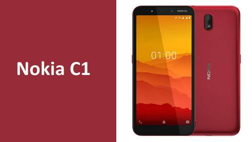 Nokia C1-супербюджетный смартфон на Android Go Edition: характеристики и цена