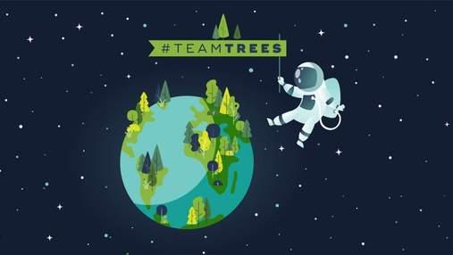 TeamTrees: зірки YouTube таки зібрали 20 мільйонів доларів, щоб посадити 20 мільйонів дерев