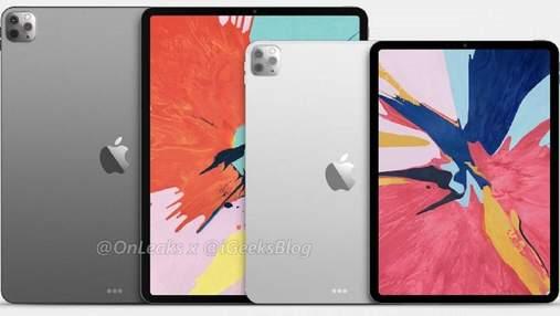 Дизайн iPad Pro 2020 повністю розсекречений авторитетним інсайдером: фото
