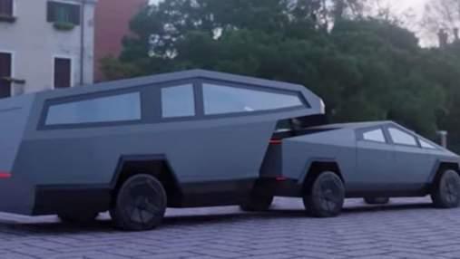 Cybertruck получит настоящий дом на колесах