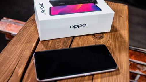 Огляд смартфона OPPO A5 2020: потужна камера та рекордна автономність