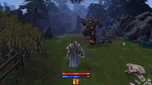 Украинский модер превратил Warcraft III: Reforged в RPG с видом от третьего лица